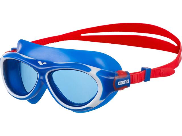 arena Oblo Goggles Kids blue-blue